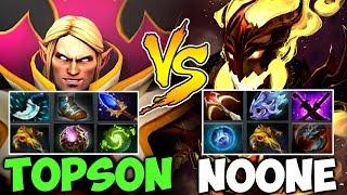 NOONE SF vs TOPSON Invoker Epic Battle - OG vs VP Carry Fight