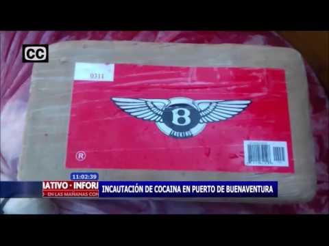 Incautacion de cocaina en puerto de Buenaventura