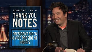 Thank You Notes: President Biden and Vice President Harris, Recalled Hot Pockets