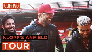 Jürgen Klopp's Tour Of Anfield: Behind The Scenes At Liverpool