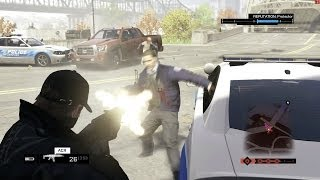 Watch Dogs - E3 2012 Mod - Ultra Settings on AMD 7850 2GB [ recording FPS ]