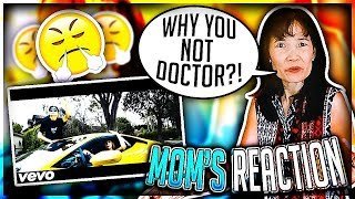 My Mom REACTS To My DISS TRACK (SHE ROASTED ME)