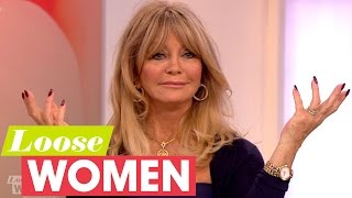 Goldie Hawn Opens Up About Marriage And Divorce   Loose Women
