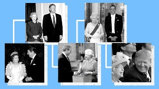 video: Watch: The Queen's most memorable meetings with US presidents