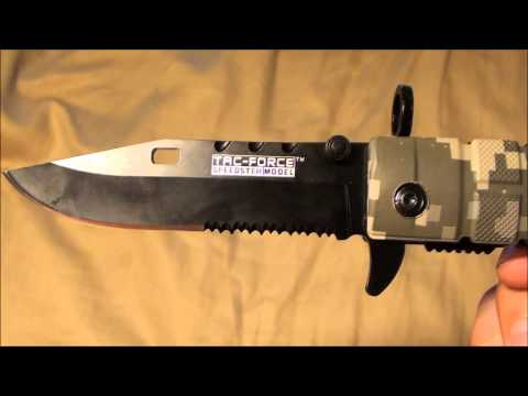 Tac Force YC-636DC Folding Knife (Review)