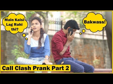 Epic - Call Clash Prank on Cute Girls Part 2   The HunGama Films
