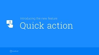 QUICK ACTIONS BUTTON FUNCTIONALITY FOR OSMAND