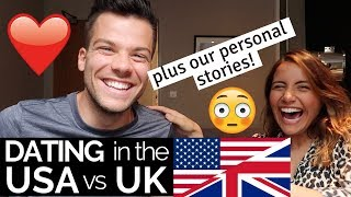 Going on Dates: USA vs UK 🇺🇸🇬🇧 | Our Dating Stories!