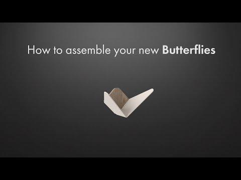 Umage Butterflies (23.70cm, 1.80cm)