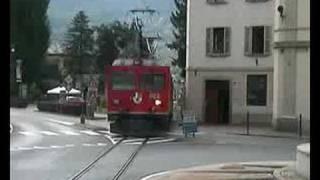 preview picture of video 'Anteprima Sui Trenini Svizzeri Piazza Tirano.'