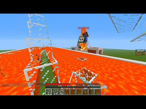 Minecraft 2v2 LAVA RACE #1 with Vikkstar, Nadeshot, Jerome & Woofless (Minecraft Parkour PVP Race)