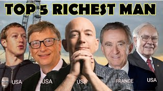TOP 5 MOST RICHEST MAN IN THE UNIVERSE
