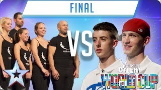 FINAL: Attraction vs Twist & Pulse | Britain's Got Talent World Cup 2018 - Video Youtube
