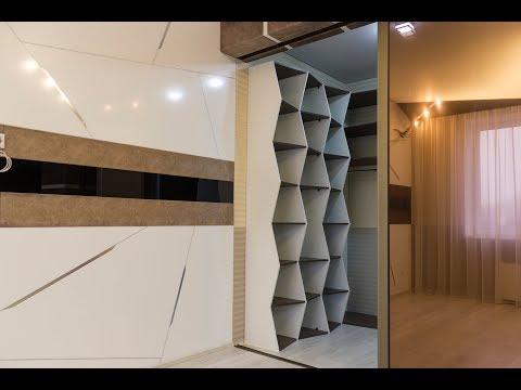 Креативный ремонт однокомнатной квартиры в Ставрополе.
