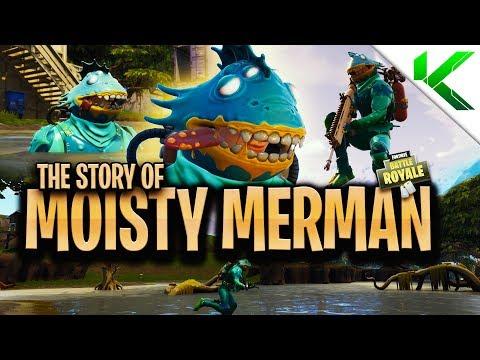 THE *TRUE* STORY ABOUT MOISTY MERMAN! (Short Fortnite BR Movie) - Fortnite: Battle Royale