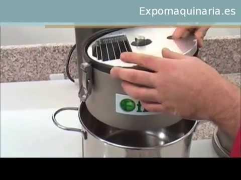 Corta verduras para Hostelería Profesional - Expomaquinaria -