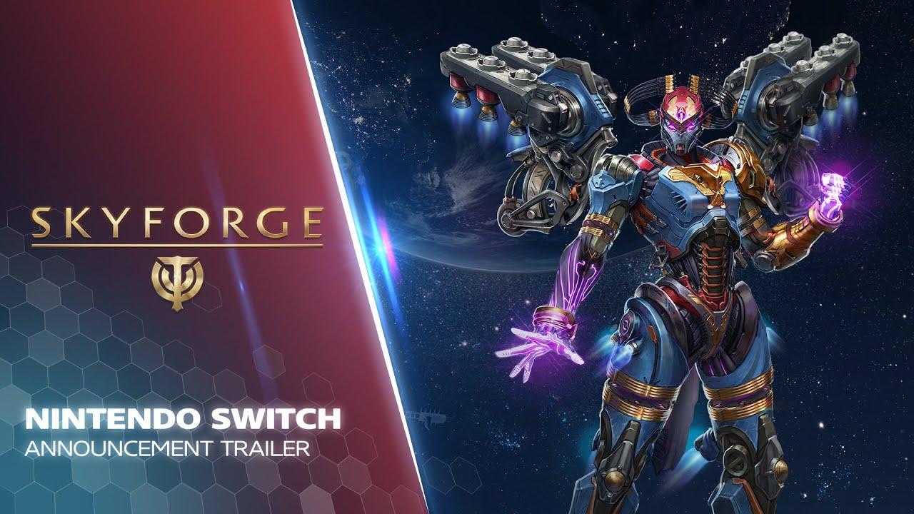 Skyforge lancia un nuovo trailer in vista del lancio su Nintendo Switch a Febbraio