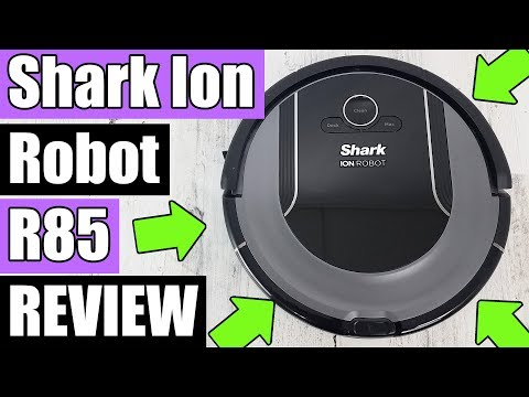 SHARK ION Robot Vacuum R85 / S87 REVIEW - (RV850) TESTS