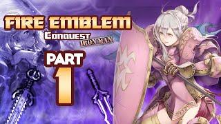 "Part 1: Fire Emblem Fates, Conquest Lunatic, Ironman Stream - ""Gruh Moment"""