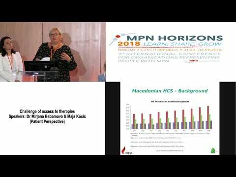 5 Challenge of access to therapies Dr Mirjana Babamova & Maja Kocic