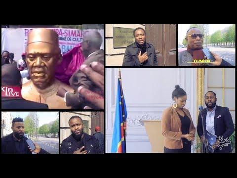Funérailles Lutumba Simaro à Paris : la Famille, l'Ambassade et la Presse en POURPALER