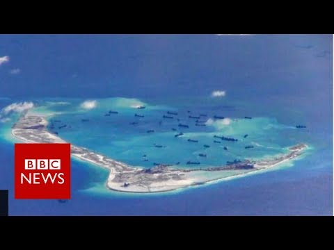 South China Sea: 'Leave immediately and keep far off' – BBC News