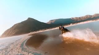 Horse Riding Noordhoek Beach: FPV Racing Drone