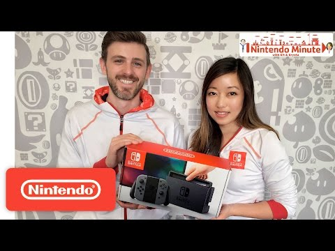 Nintendo Switch : déballage officiel