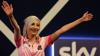 video: Meet Fallon Sherrock, the ex-hairdresser changing the face of darts