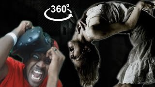 THE EXORCIST 360 EXPERIENCE HTC Vive VR REACTION