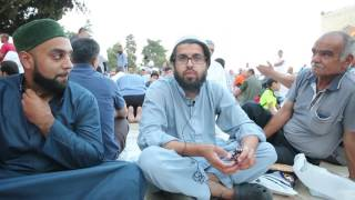 Ramadan Iftar meals Distribution at Masjid Alaqsa