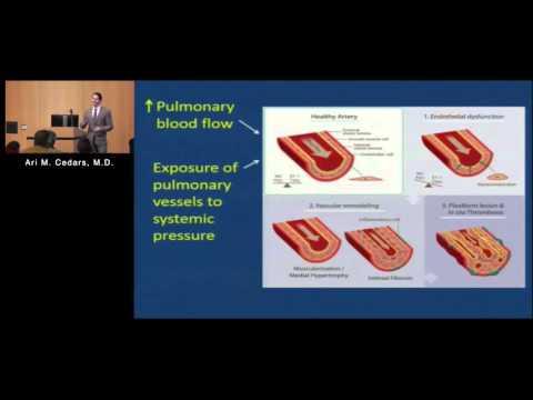 Was bedeutet, dass pulmonale Hypertension