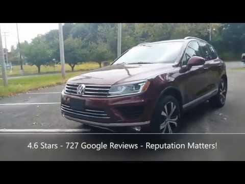 Pre-Owned 2017 Volkswagen Touareg Wolfsburg Edition