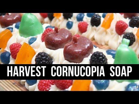 🍂 Autumn Collection : Harvest Cornucopia Soap 🍂 | Royalty Soaps