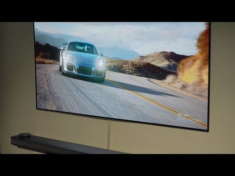 LG 65W7 Wallpaper OLED im Test, Dolby Vision, Dolby Atmos (TrueHD) und Technicolor-Tuning
