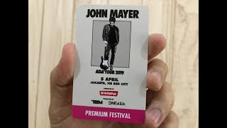 John Mayer New Light Live At Ice Bsd Jakarta 04519
