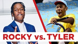 A$AP Rocky vs. Tyler, the Creator