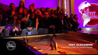 Joey Alexander interview on Canal+ France