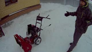 Самый лучший и надежный снегоуборщик видео