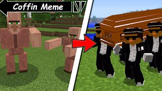 COFFIN MEME IN MINECRAFT ASTRONOMIA DANCE SCOOBY CRAFT FUNNY