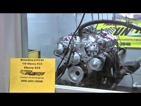 572 Chevy Big Block Turn-Key Crate Engine With 700HP