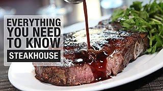 Everything You Need to Know about Eating at a Steakhouse - Video Youtube