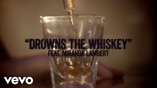 Jason Aldean   Drowns The Whiskey (ft. Miranda Lambert) [Lyric Video]