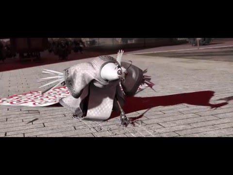 Good Afternoon Gentlemen! [Fight Scene]-Kung Fu Panda 2. (Full-HD)