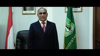Universitas Nasional – Ucapan Selamat Datang kepada Mahasiswa Baru dari Rektor UNAS