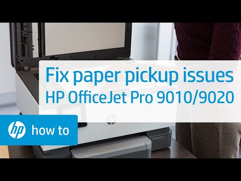 How to Fix the HP OfficeJet Pro 9010 or 9020 Printer Series When It Does Not Pick Up Paper