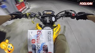 Midnight Stunt Ride and a Turbo Slingshot