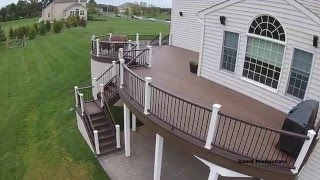 Curved Decking Designs- Amazing Trex Deck Designs In PA And NJ