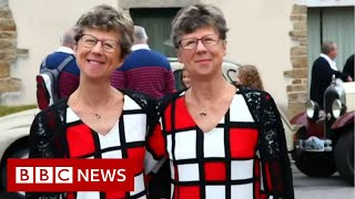 Double celebrations at twin festival - BBC News
