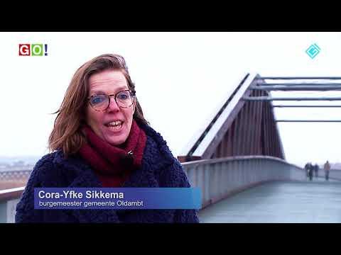Pieter Smitbrug, de langste fietsbrug van Europa (VIDEO) - RTV GO! Omroep Gemeente Oldambt